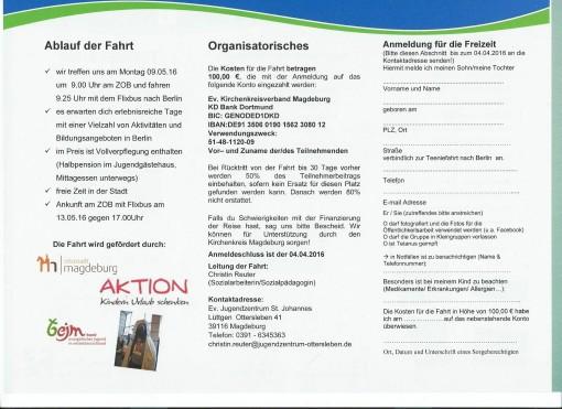 IG Metall Magdeburg-Schönebeck - Jugend